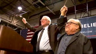 Danny Devito Meets And Introduces Bernie In St Louis