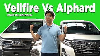 Toyota vellfire vs alphard Videos - 9tube tv