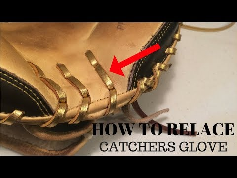 HOW TO RELACE - Catchers Glove Lower Palm