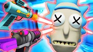 KILLING RICK SANCHEZ And REVIVING HIM (Rick and Morty: Virtual Rick-ality Gameplay)