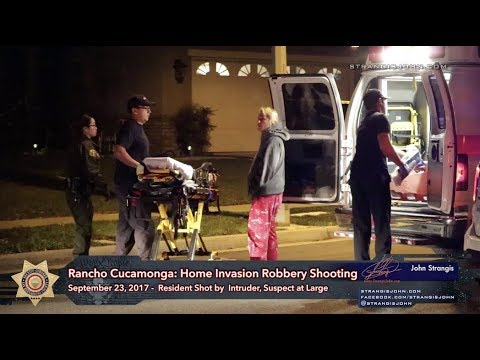 Rancho Cucamonga: Woman Shot in Home Invasion Robbery