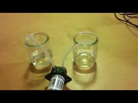 Dinamo Vacum Hisap DC 12V D4 Lab Dosing Pump Peristaltic Head Chemical
