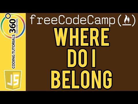 Bonfire: Where Do I Belong JavaScript FreeCodeCamp.com