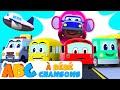 Download  Cinq Drôle Autobus | Comptines Et Chansons | À Bébé Chanson MP3,3GP,MP4