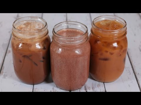 3 Iced Coffee Recipes