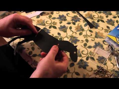 The Dancing Firefly presents   How to make a shadow puppet part three
