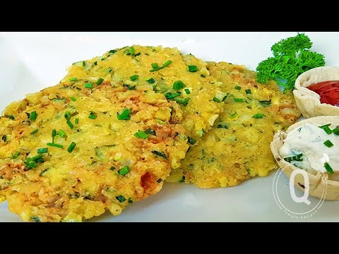 Microwave Zucchini Fritters