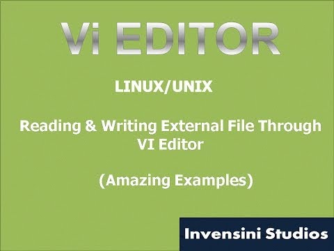 Vi Basic Reading and Writing From External file