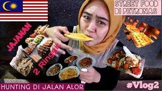 Vlog #2 | Hunting Makanan di Jalan Alor Malaysia, Street Food Murah #VLOG2 [CC]
