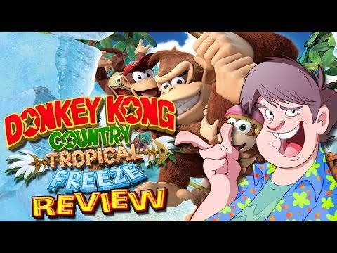 Donkey Kong Country Tropical Freeze Review (Wii U)