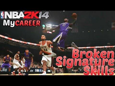 PS4 NBA 2K14 MyCAREER: 5 Signature Skills That Break NBA 2K14!