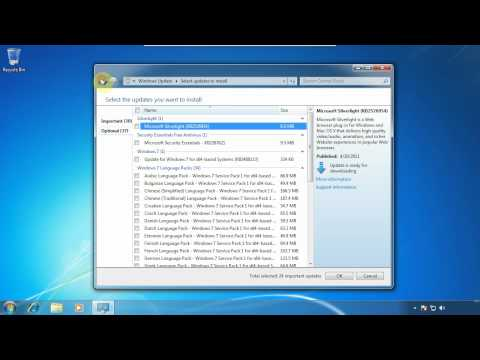 Windows 7 Ultimate - Installing Updates - www.vid4.us