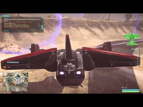 Planetside 2: Flying a Big Old Spaceship