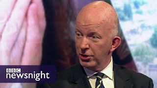Grenfell Tower fire: Interview with Council leader Nicholas Paget-Brown - BBC Newsnight