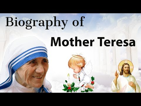 Biography of Mother Teresa - The Saint from Kolkata , Explained in Hindi - Great Indians