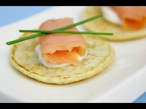 Blini With Smoked Salmon recipe