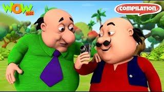 Motu Patlu - 6 episodes in 1 hour | 3D Animation for kids | #92