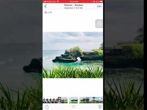 iOS 11 - Photo App - Loop