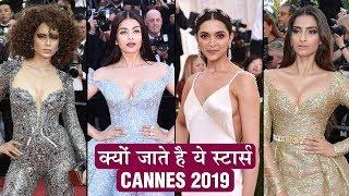 Cannes 2019 REASON Behind Aishwarya, Sonam, Kangana, Deepika's Appearance REVEALED