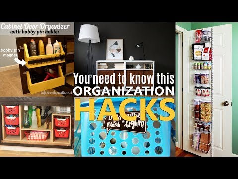 27 Home Organization and DIY project ideas for Small Space