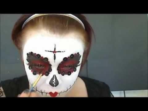 Dia De Los Muertos/Day of the Dead make-up tutorial