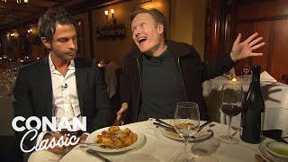 Conan's Dinner With Jordan Part 1 - Conan25: The Remotes