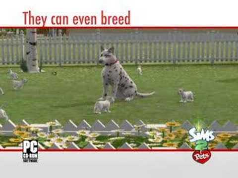 The Sims 2 Pets Trailer