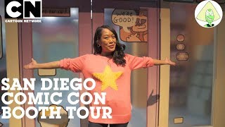 San Diego Comic Con | OK K.O.! Booth Tour with Shelby Rabara | Cartoon Network