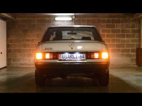 Mercedes LED uygulaması