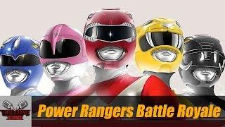 POWER RANGERS BATTLE ROYALE   DEATH BATTLE Cast