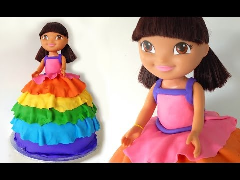 Dora Birthday Cake HOW TO COOK THAT Dora The Explorer