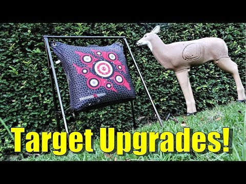 Bow Target Stand - Archery Target Stand Upgrades!