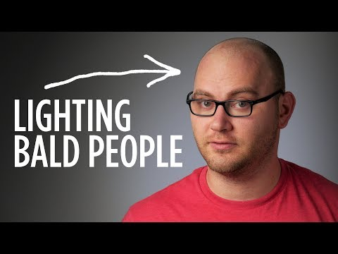 How to Light Bald People