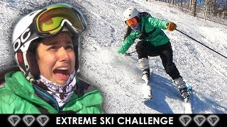 I Trained Like A Professional Skier 🚡🎿⛷️