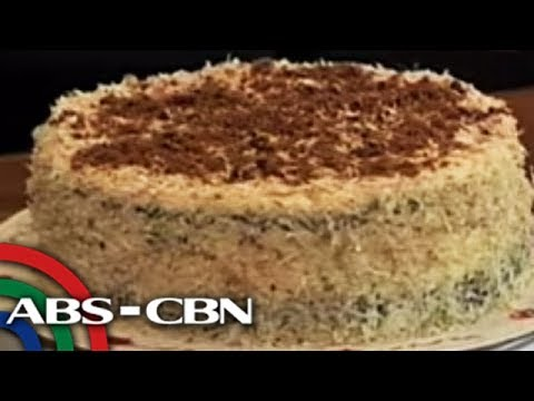 UKG: Sapin-sapin at puto bumbong, ginawang cake sa Pampanga