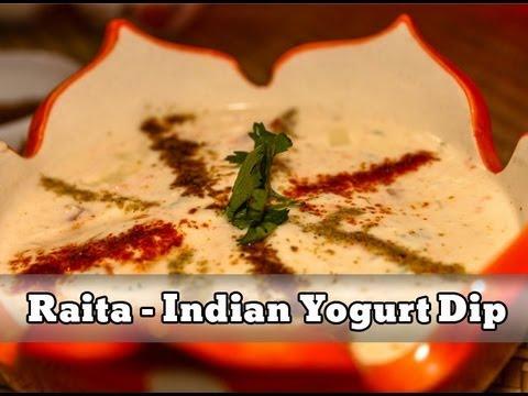 Raita | Indian Yogurt Dip Recipe By Sharmilazkitchen