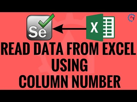 Read Data From Excel Using Column Number