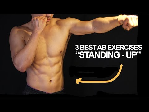 3 Best Six Pack Ab Exercises (Standing Up) From Muay Thai Champion