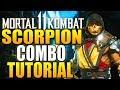 Mortal Kombat 11 Scorpion Combos Mortal Kombat 11 Scorpion Combo Tutorial Daryus P