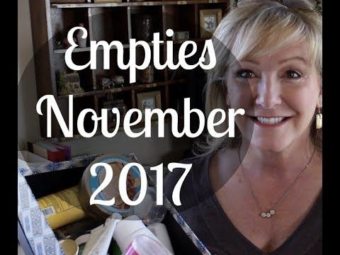 Empties—November 2017