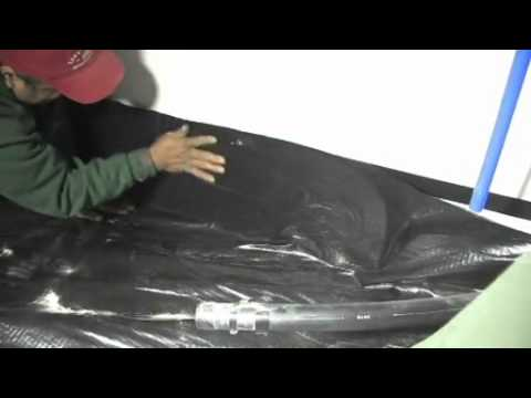 Closed Crawl Space - Sealing the Ground Vapor Retarder to the Wall