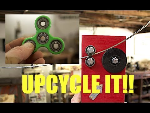 Turn a Useless Fidget Spinner into a Fret Bending Tool