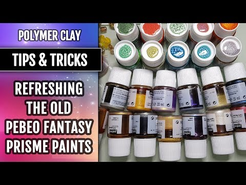 Part 2. Tips&Tricks | How to Refresh the old Pebeo Fantasy Prisme Paints.