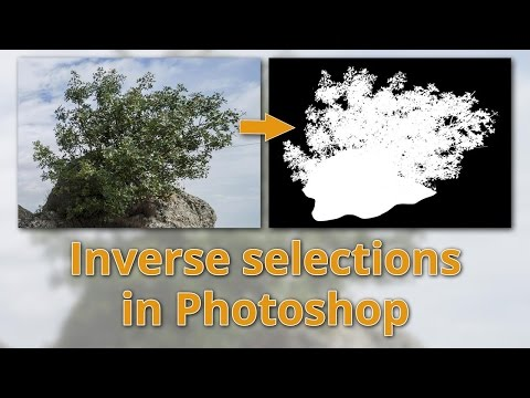 Inverse selections in Photoshop - Easily select complex objects