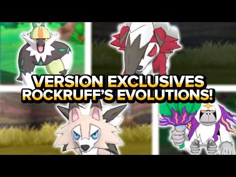 Pokemon Sun & Moon   Version Exclusive Pokemon! Rockruff's Evolutions + Passimian & Oranguru