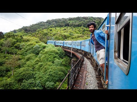 Being stalked across Sri Lanka - and the most beautiful train ride in the entire world