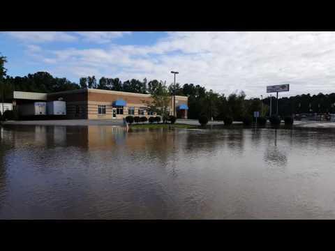 Hurricane Matthew - Rocky Mount, NC - Zebulon Rd