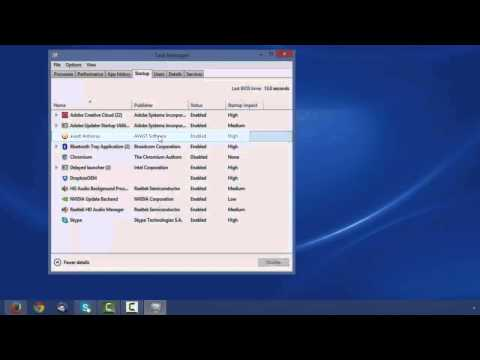 How to Disable Windows Applications from Auto Starting