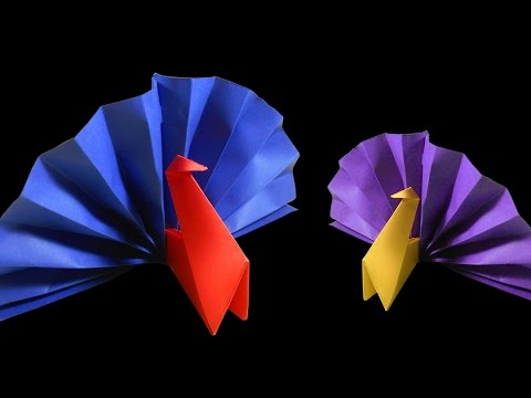 Origami |DIY | How to make Paper turkey -easy tutorial