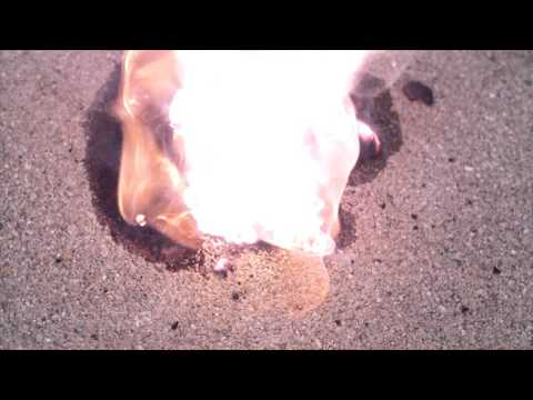 Potassium explosion in SLOW MOTION